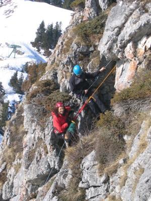 Filmaufnahmen mit dem bayrischen rundfuk für die sendung zeit für